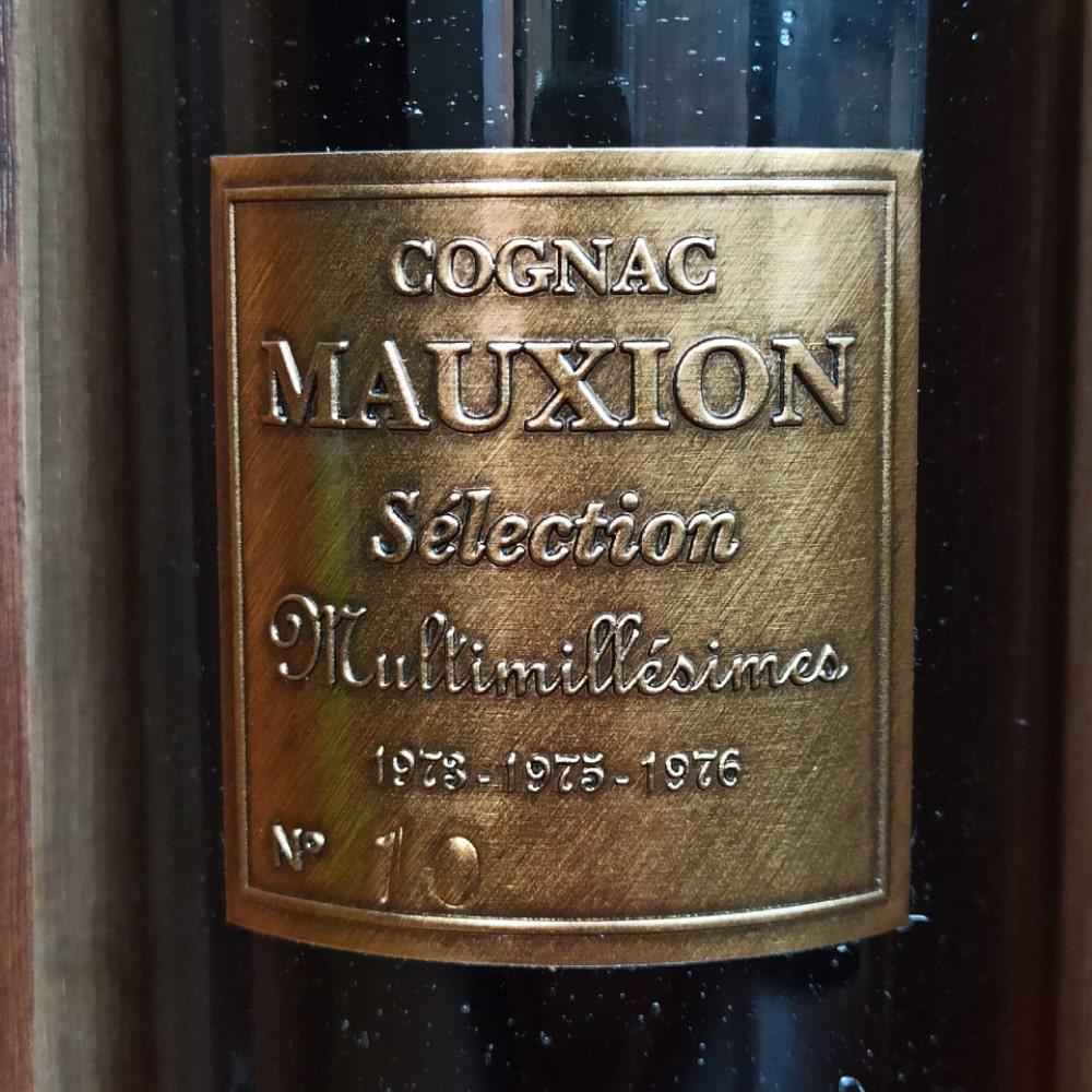 Mauxion Sélection Multimillésimes Cognac front label