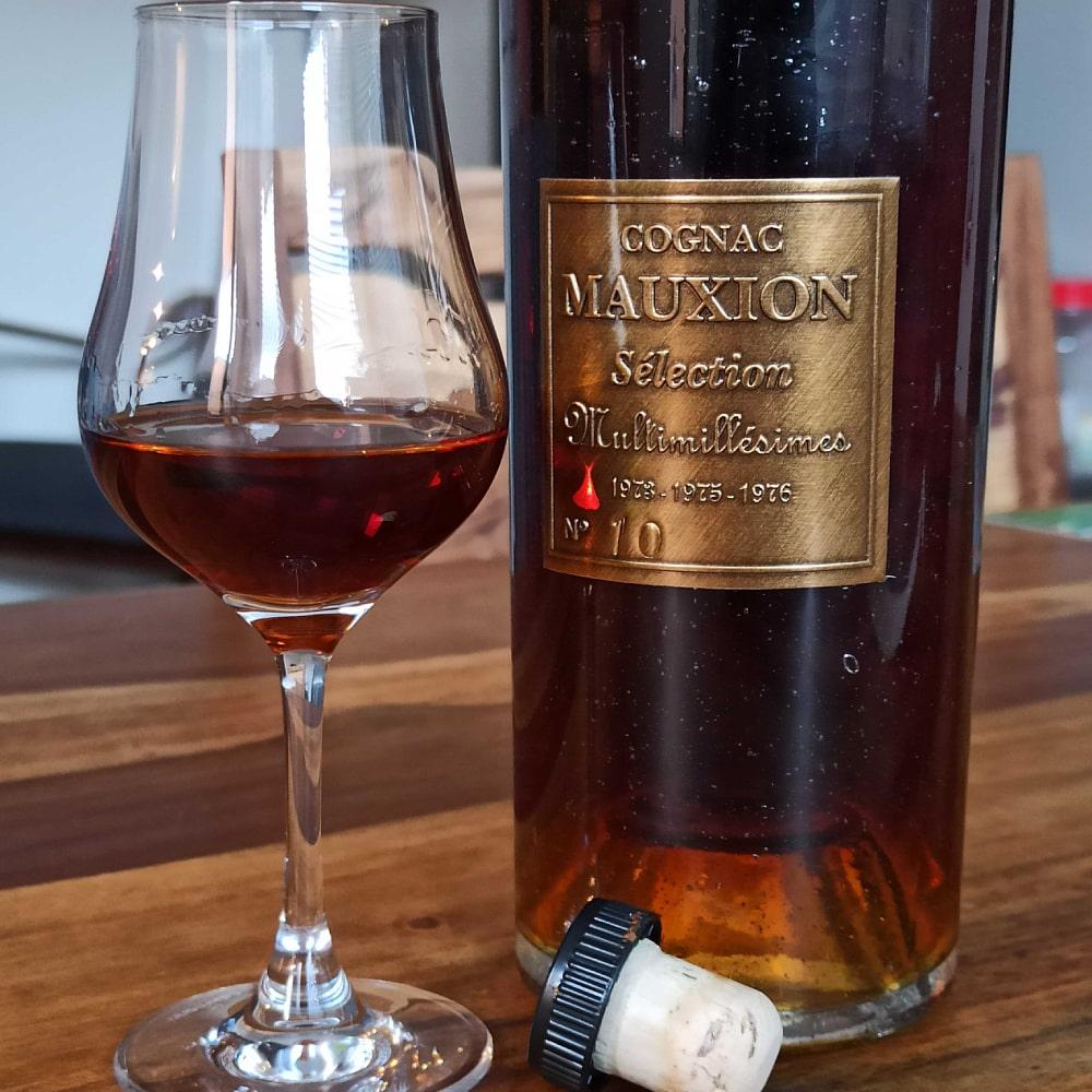 Mauxion Sélection Multimillésimes Cognac tasting
