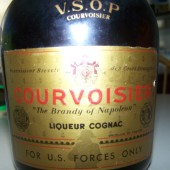 Courvoisier VSOP Cognac for US Forces Only: Date unkown